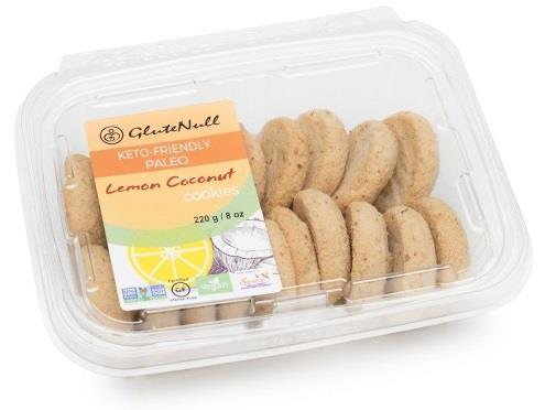 GluteNull Lemon Coconut Keto Paleo Cookie