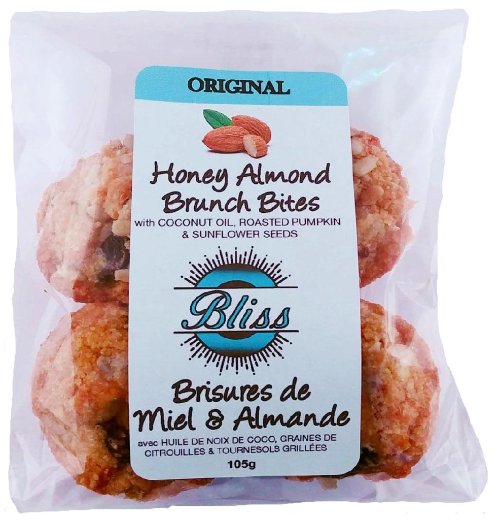 Bliss Specialty Fodds Original Honey Almond Brunch Bites