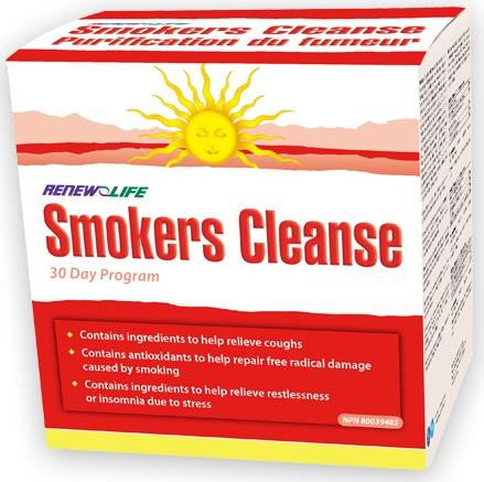Renew Life Smokers Cleanse Kit