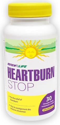 Renew Life HeartburnSTOP 30 Chews