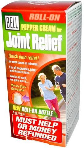 Bell Pepper Cream for Joint Relief Roll-On 90ml