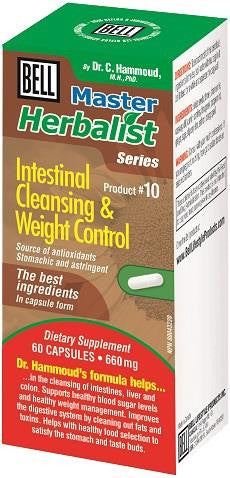 Bell Intestinal Cleaning & Weight Control 60 Caps