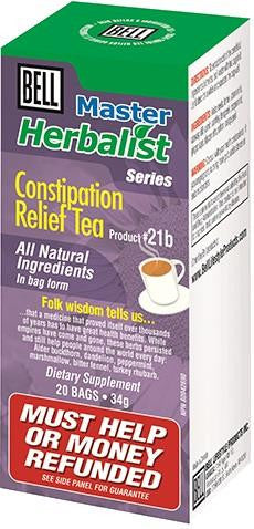 Bell Constipation Relief Tea 20 Bags