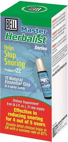 Bell Stop Snoring Spray 9ml