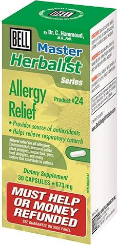 Bell Allergy Relief 30 Caps