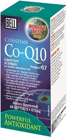 Bell Co-Q10 60 Softgels