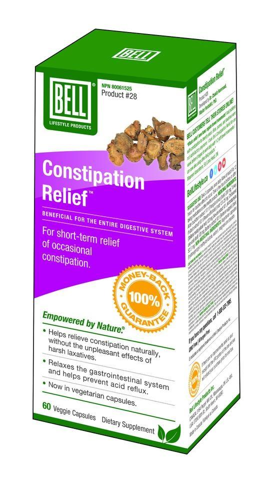 Bell Constipation Relief Tea in Capsules - 60 Caps