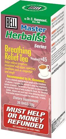 Bell Breathing Relief Tea 30 Bags