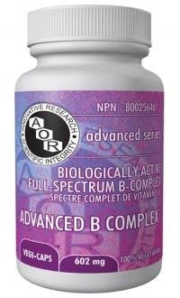 AOR Advanced B complex 90 vcaps