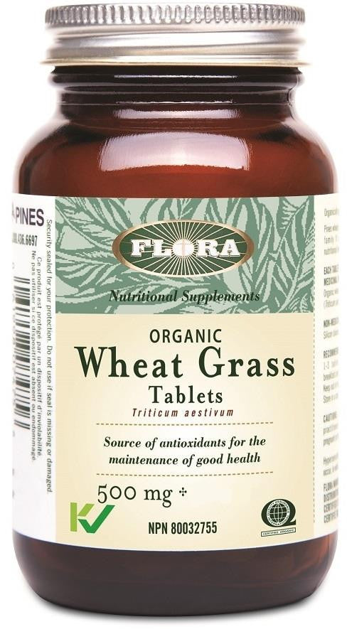 Flora Wheat Grass 500mg 180 Tabs