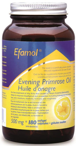 Efamol Evening Primrose Oil 500mg 180