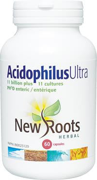New Roots Acidophilus Ultra 60 Caps