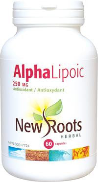 New Roots Alpha Lipoic Acid 250mg 60 Caps
