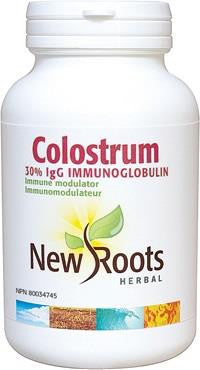 New Roots Colostrum 570mg 60 Caps