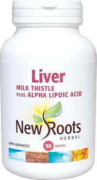 New Roots Liver Milk Thistle 90 Caps