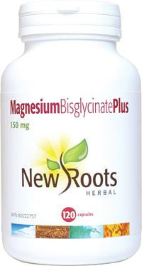 New Roots Magnesium Bisglycinate Plus 120 Caps