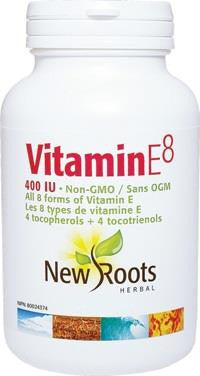 New Roots Vitamin E8 400 IU 120 Softgels