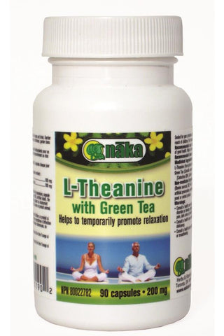 Naka L-Theanine Plus Green Tea