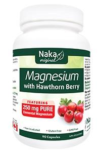 Naka Magnesium with Hawthorn Berry 250mg - 90