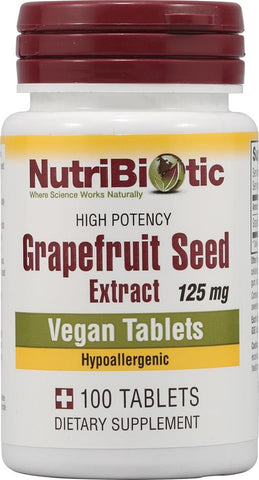Nutribiotic Grapefruit Seed Extract - 100 tabs
