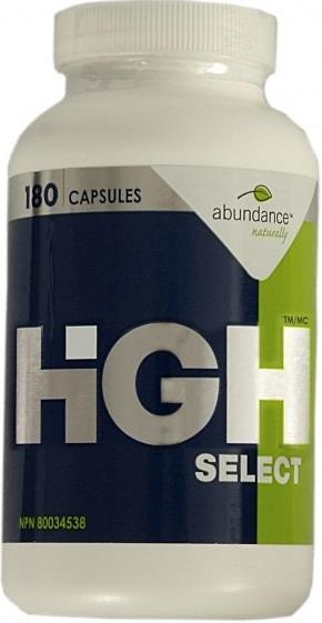 Abundance Naturally HiGH Select Capsules