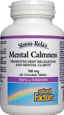 Natural Factors Stress-Relax Mental Calmness