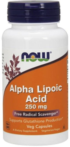 NOW Alpha Lipoic Acid 250mg 120 VCaps