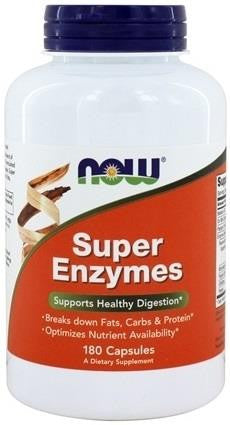 NOW Super Enzymes 180 Caps