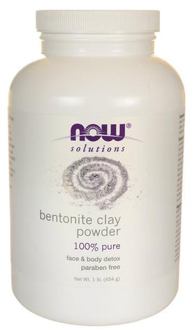 NOW Bentonite Clay Powder 454g