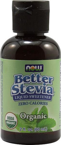 NOW Better Stevia Organic Liquid Extract 60ml