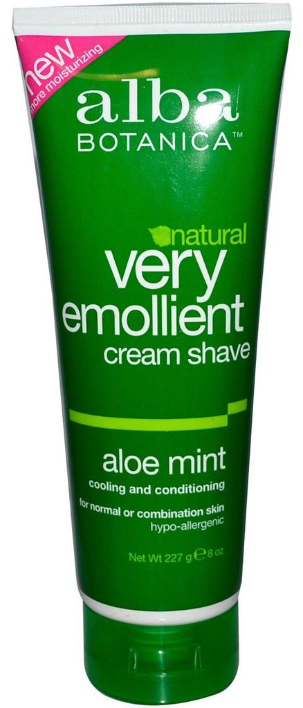 Alba Botanica Shave Cream Aloe and Mint
