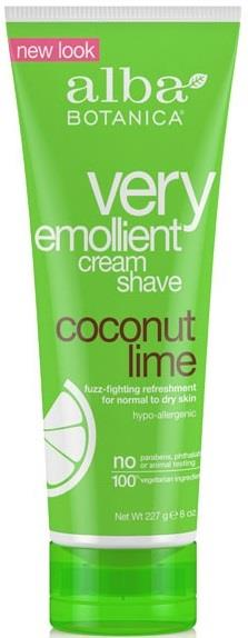 Alba Botanica Shave Cream Coconut Lime