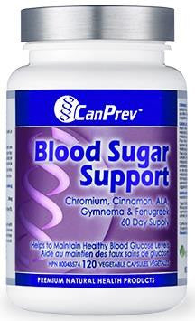 CanPrev Blood Sugar Support 120 VCaps