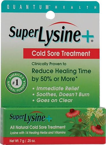 Quantum Super Lysine Plus Cold Sore Treatment