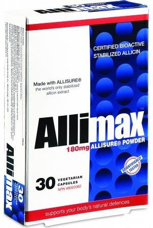 Allimax Allisure Powder - 30 capsules