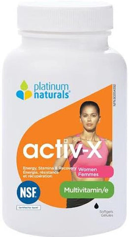 Platinum Multivitamin Activ-X for Active Women