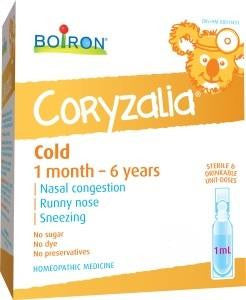 Boiron Children's Coryzalia Cold 15 x 1ml