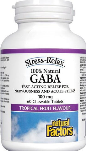 Natural Factors Stress-Relax 100% Natural GABA