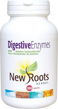 New Roots Digestive Enzymes 100 Caps