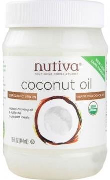 Nutiva Organic Coconut Oil - 445ml