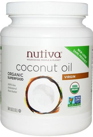Nutiva Organic Virgin Coconut Oil - 1.6L