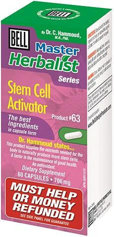 Bell Stem Cell Activator 60 Caps