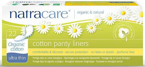 Natracare Ultra Thin Liners Organic
