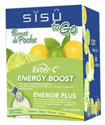 SISU Ester-C To Go Lemon-Lime 30 Packets