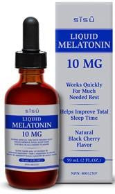 SISU Melatonin 10mg Liquid 59ml