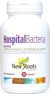 New Roots Hospital Bacteria Defense 10 Billion Per Cap - 30 Caps