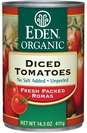 Diced Tomatoes, Organic