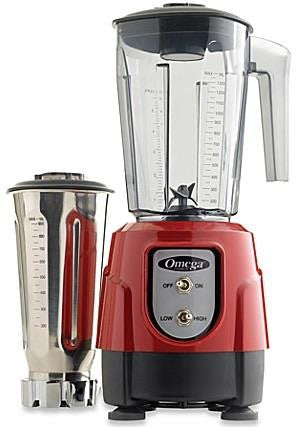 OMEGA - BL390R - 32OZ/48OZ COMBINATION RED BLENDER