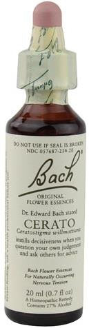 Bach Flower Remedies Essence Cerato