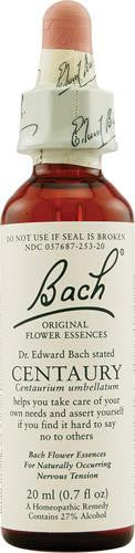 Bach Flower Remedies Essence Centaury